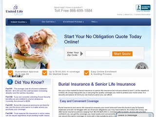 Burial Insurance Plans | United Life Group