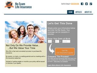 No Exam Life Insurance