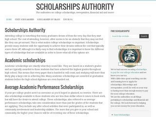 Scholarships Authority